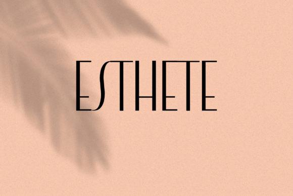Esthete Font