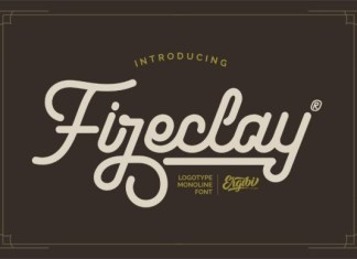 Fireclay Font