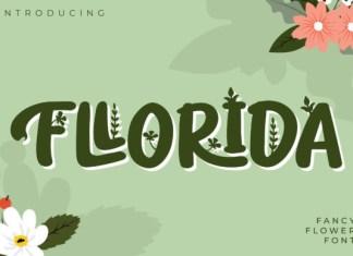 Fllorida Font