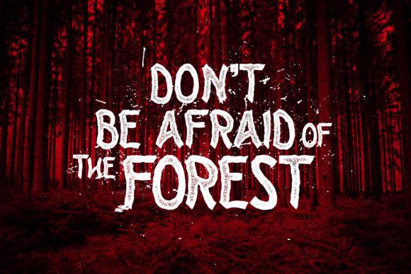 Forest Side Font