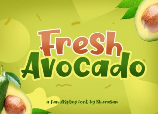 Fresh Avocado Font