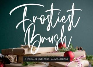 Frostiest Brush Font