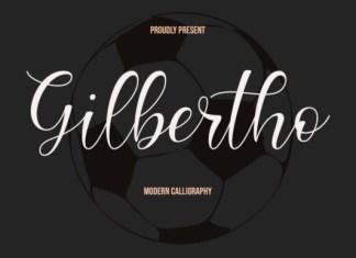 Gilbertho Font