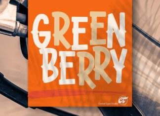 Green Berry Font