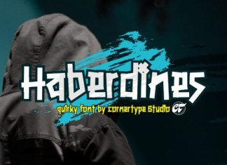 Haberdines Font