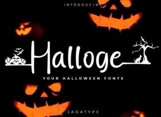 Halloge Font