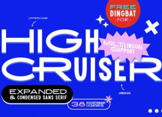 High Cruiser Font