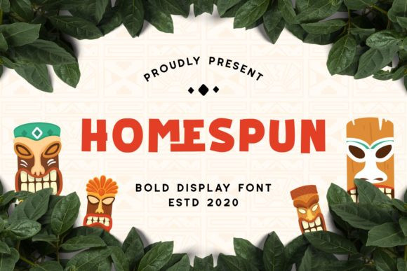 Homespun Font