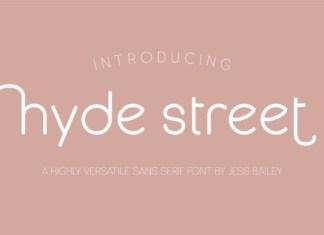 Hyde Street Font