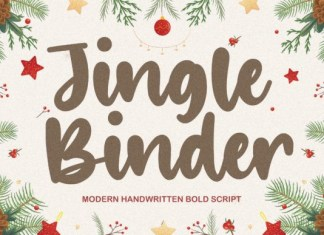 Jingle Binder Font