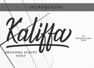 Kaliffa Font