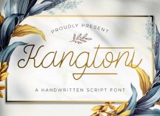 Kangtoni Font