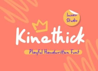 Kinethick Font