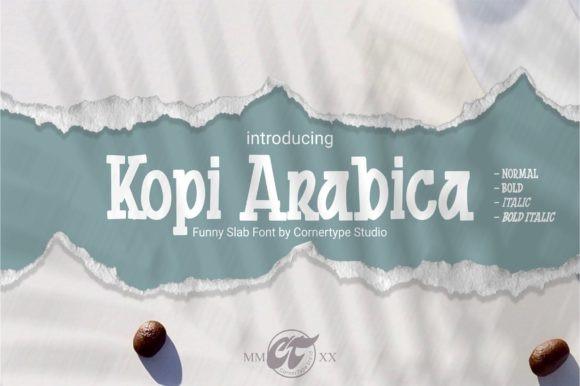 Kopi Arabica Font