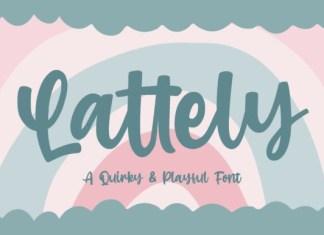 Lattely Font