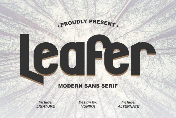 Leafer Font