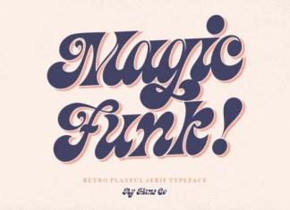 Magic Funk Font