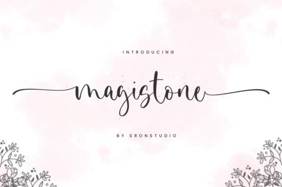 Magistone Font