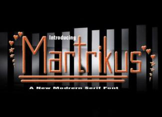 Martrikus Font