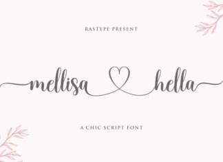Mellisa Hella Font