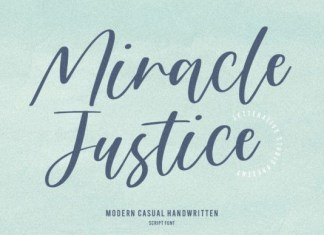 Miracle Justice Font