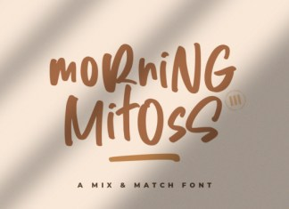 Morning Mitoss Font