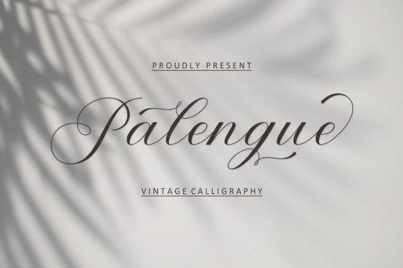 Palengue Font