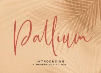 Pallium Font
