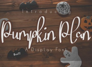 Pumpkin Plan Font