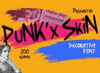 Punkx Skin Font