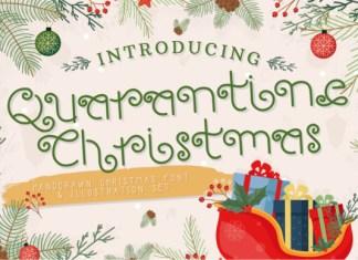 Quarantine Christmas Font