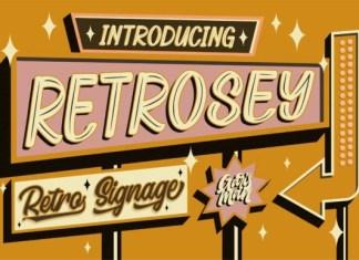 Retrosey Font