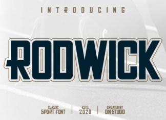Rodwick Font