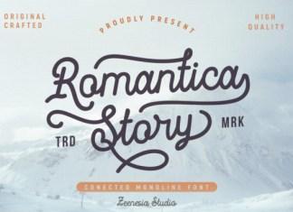 Romantica Story Font