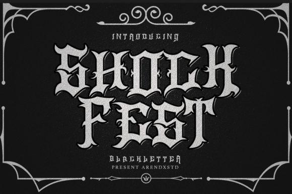 ShockFest Font