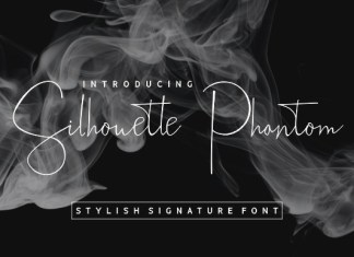 Silhouette Phantom Font