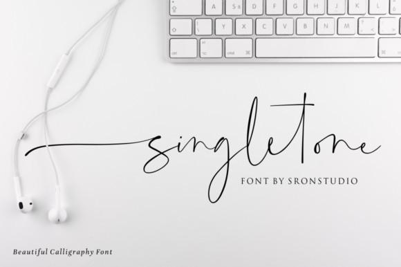 Singletone Font
