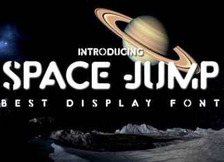 Space Jump Font