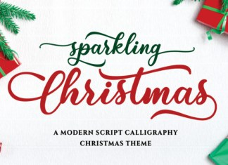 Sparkling Christmas Font