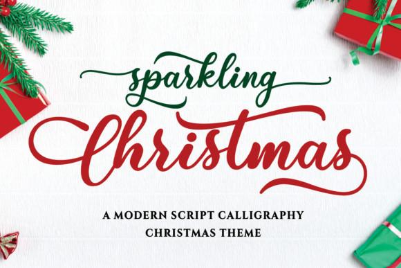 Sparkling Christmas Font