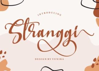 Stranggi Font