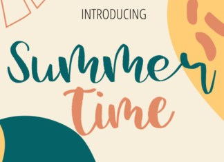 Summer Time Font