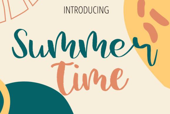 Summer Time Font