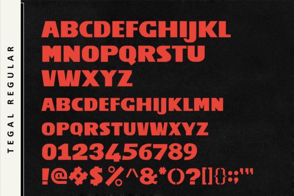 Tegal Font