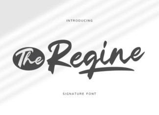The Regine Font