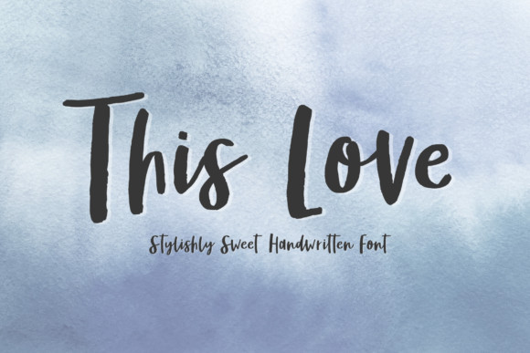 This Love Font