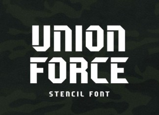 Union Force Font