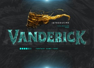 Vanderick Font