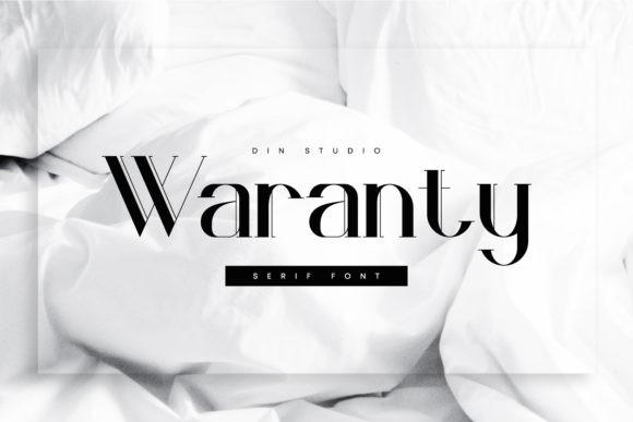Waranty Font