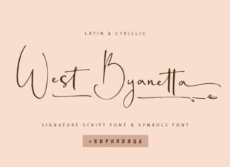 West Byanetta Font